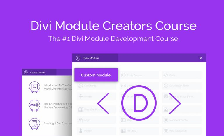 Learn To Build Divi Modules